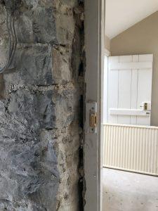 doorway in stone wall
