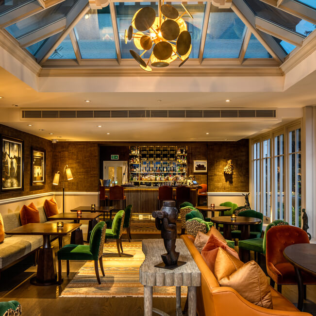 Lake District hotel design interiors