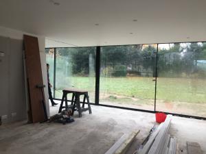 9m long glazing system